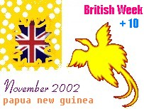 British Week in Papua New Guinea