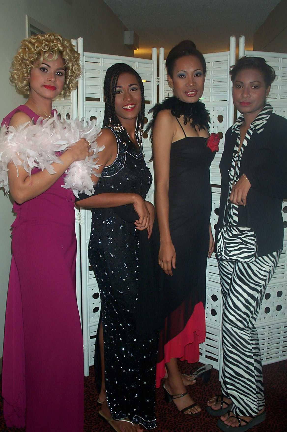 Models @ the IFF Fashion Show